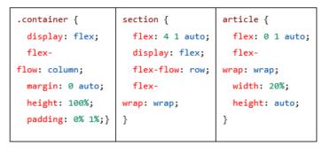 flexbox-settings